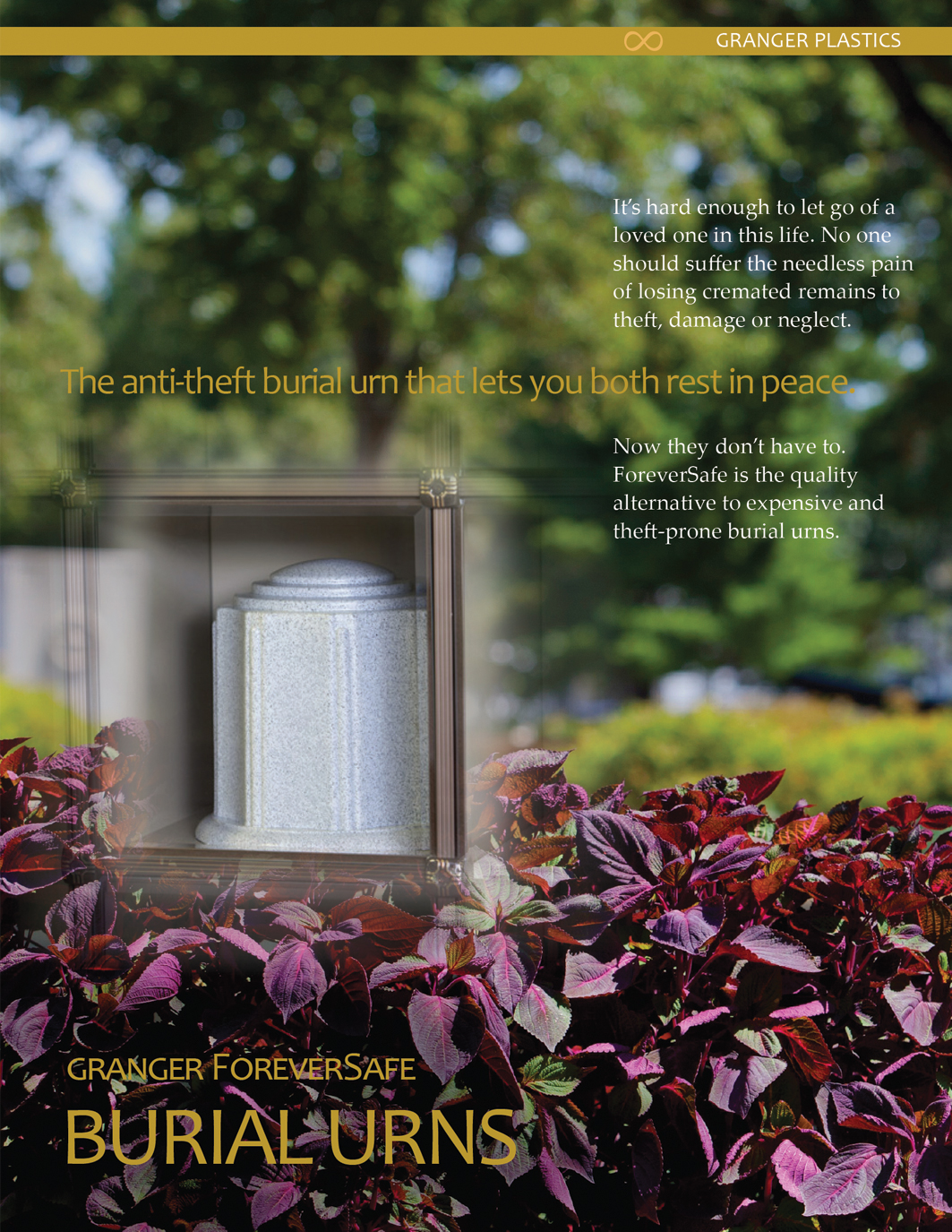 ForeverSafe™ Cemetery Vase Product Information