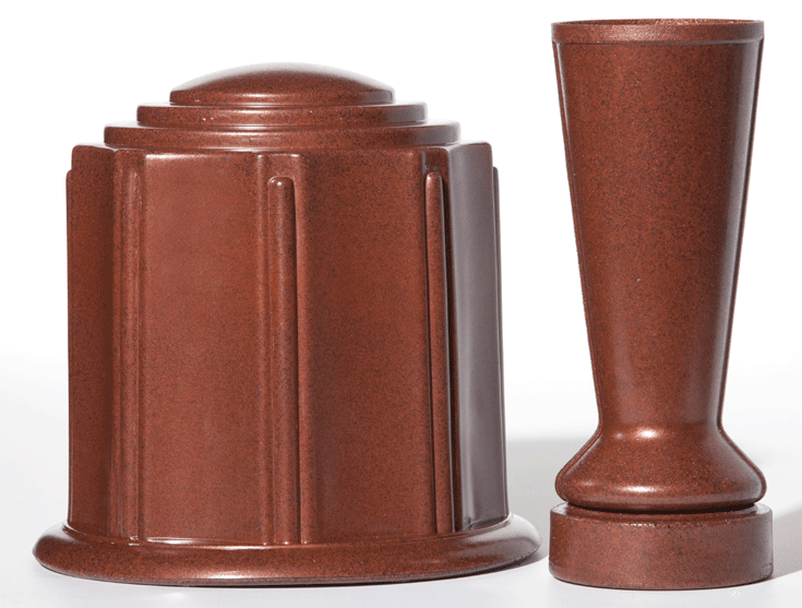 ForeverSafe™ Cremation Burial Urn and Vase
